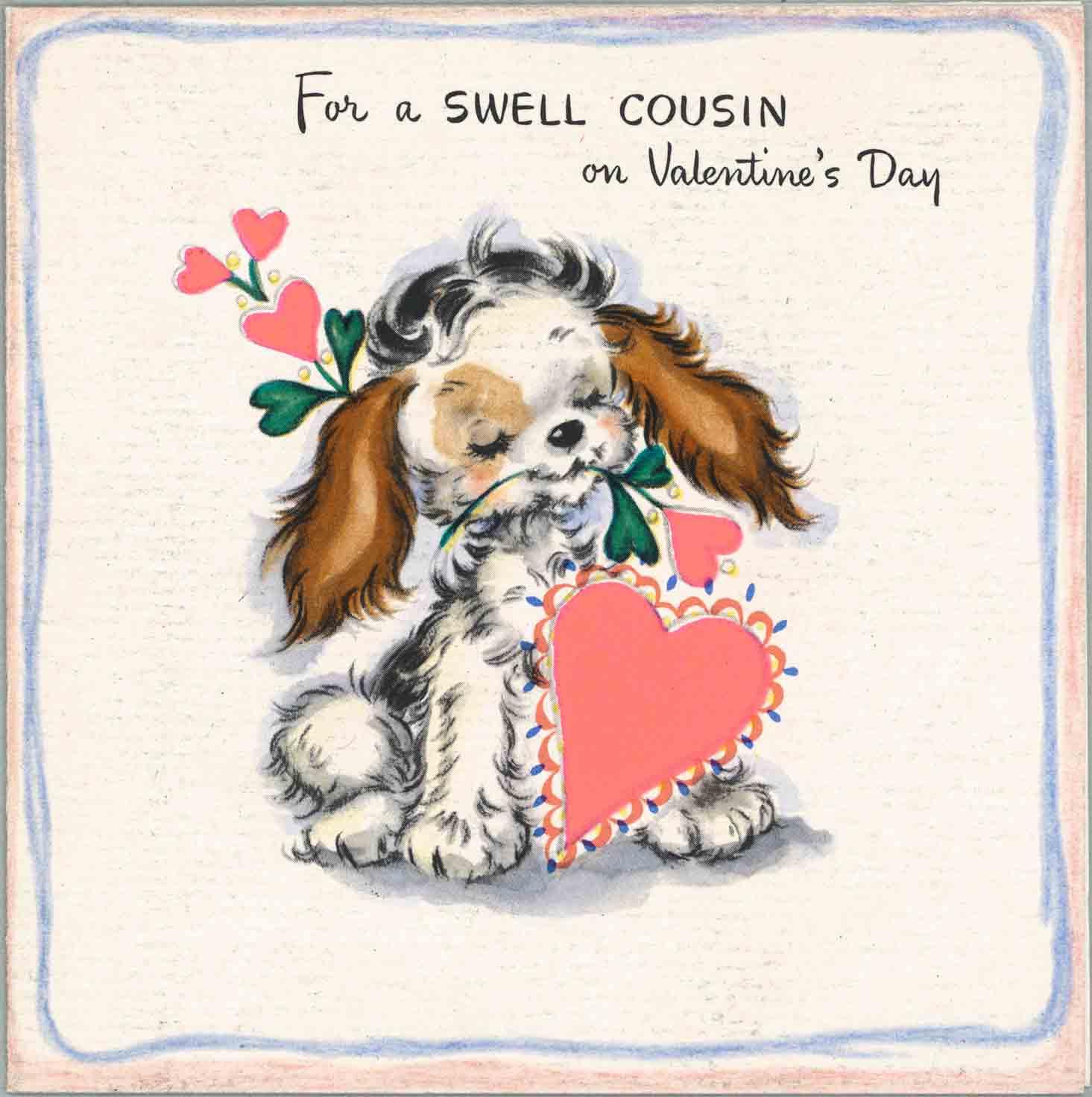 1947 Valentine's Day Card