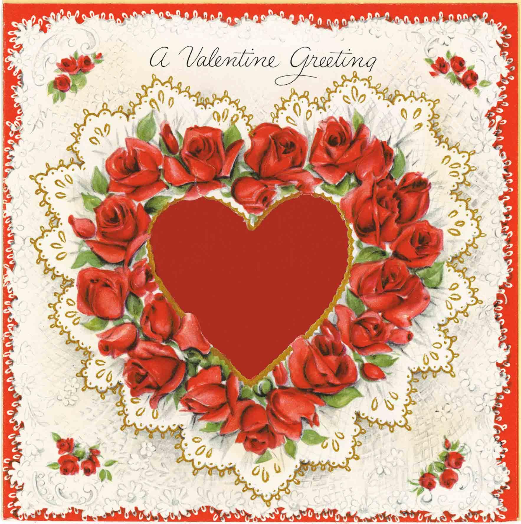 1952 Valentine's Day Card