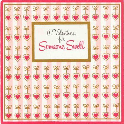 1954 Valentine's Day Card