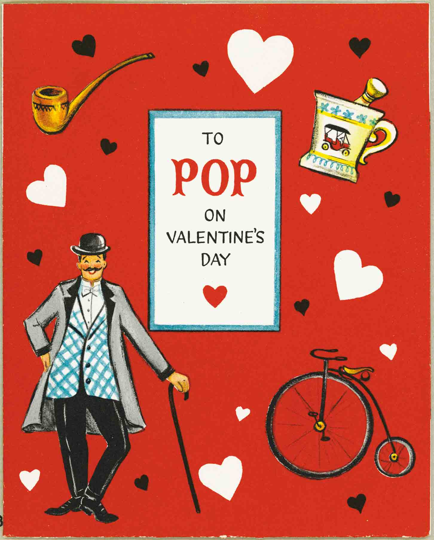 1956 Valentine's Day Card
