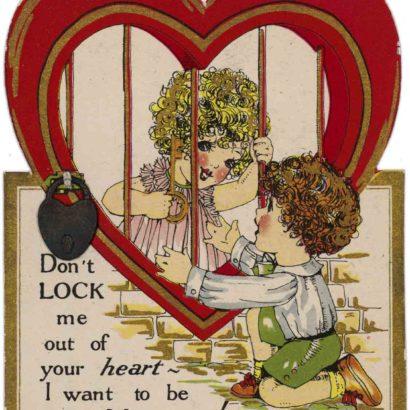 1928 Valentine's Day Card