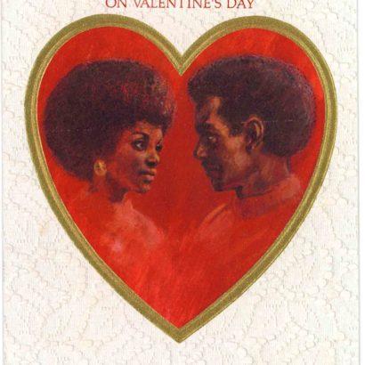 1972 Valentine's Day Card