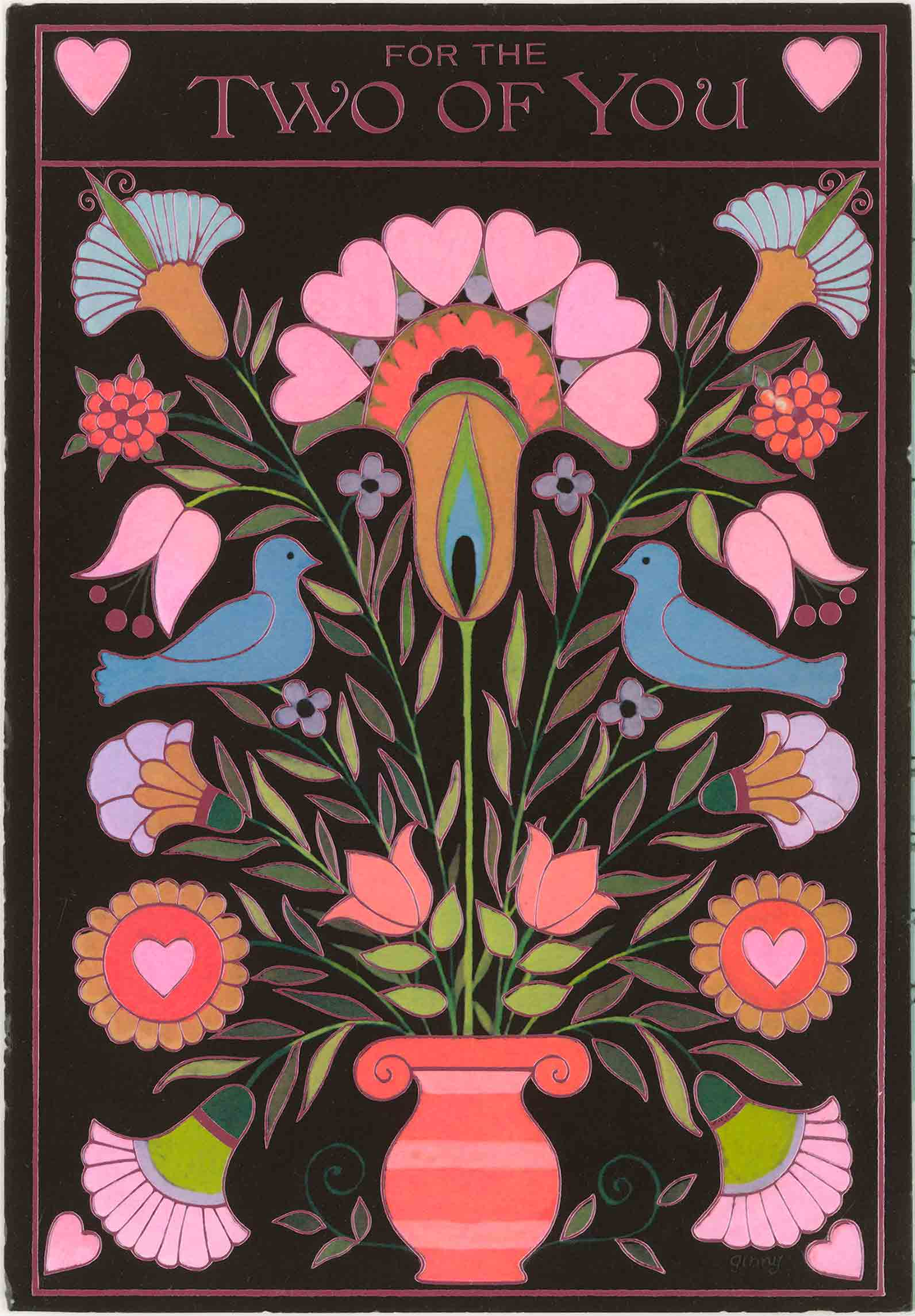 1979 Valentine's Day Card