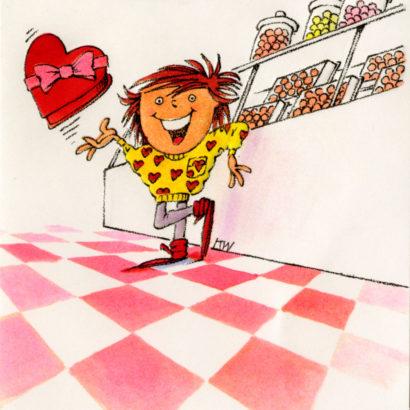 1986 Valentine's Day Card