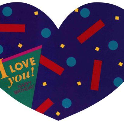 1987 Valentine's Day Card