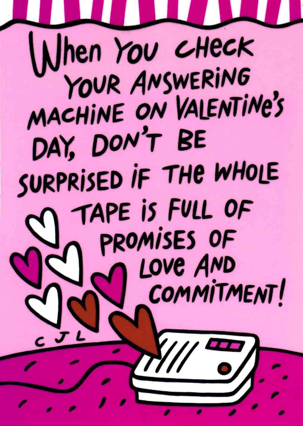 1993 Valentine's Day Card