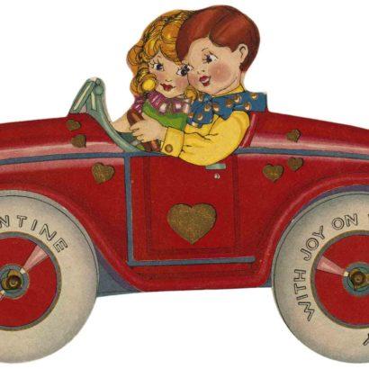 1929 Valentine's Day Card