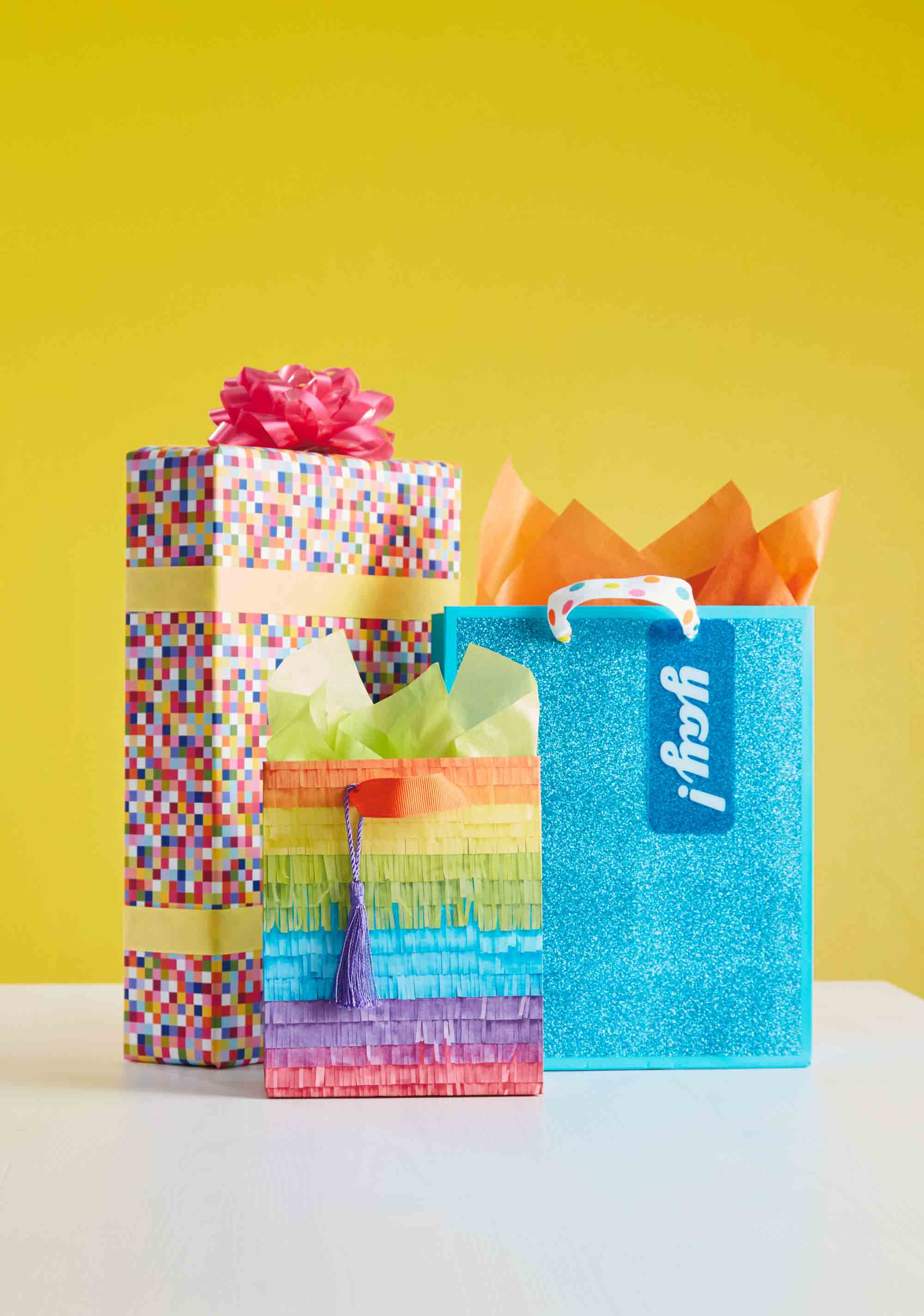 Hallmark Gift Wrap – Bright and Modern Collection