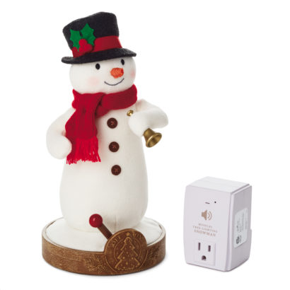 Musical Tree Lighting Snowman
