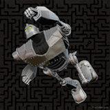 The Iron Giant all-metal Keepsake Ornament