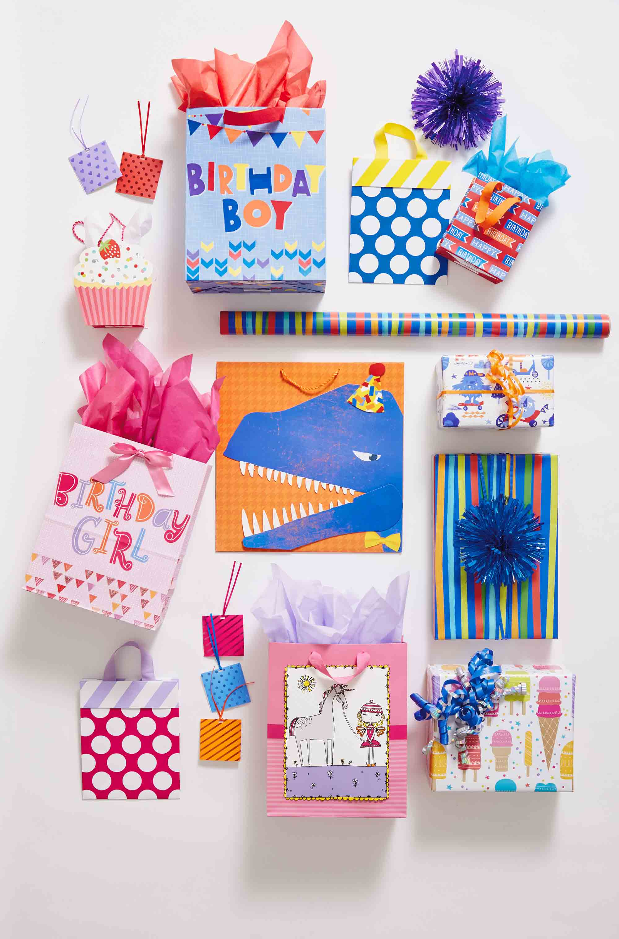 Hallmark Gift Wrap – Kids Collection