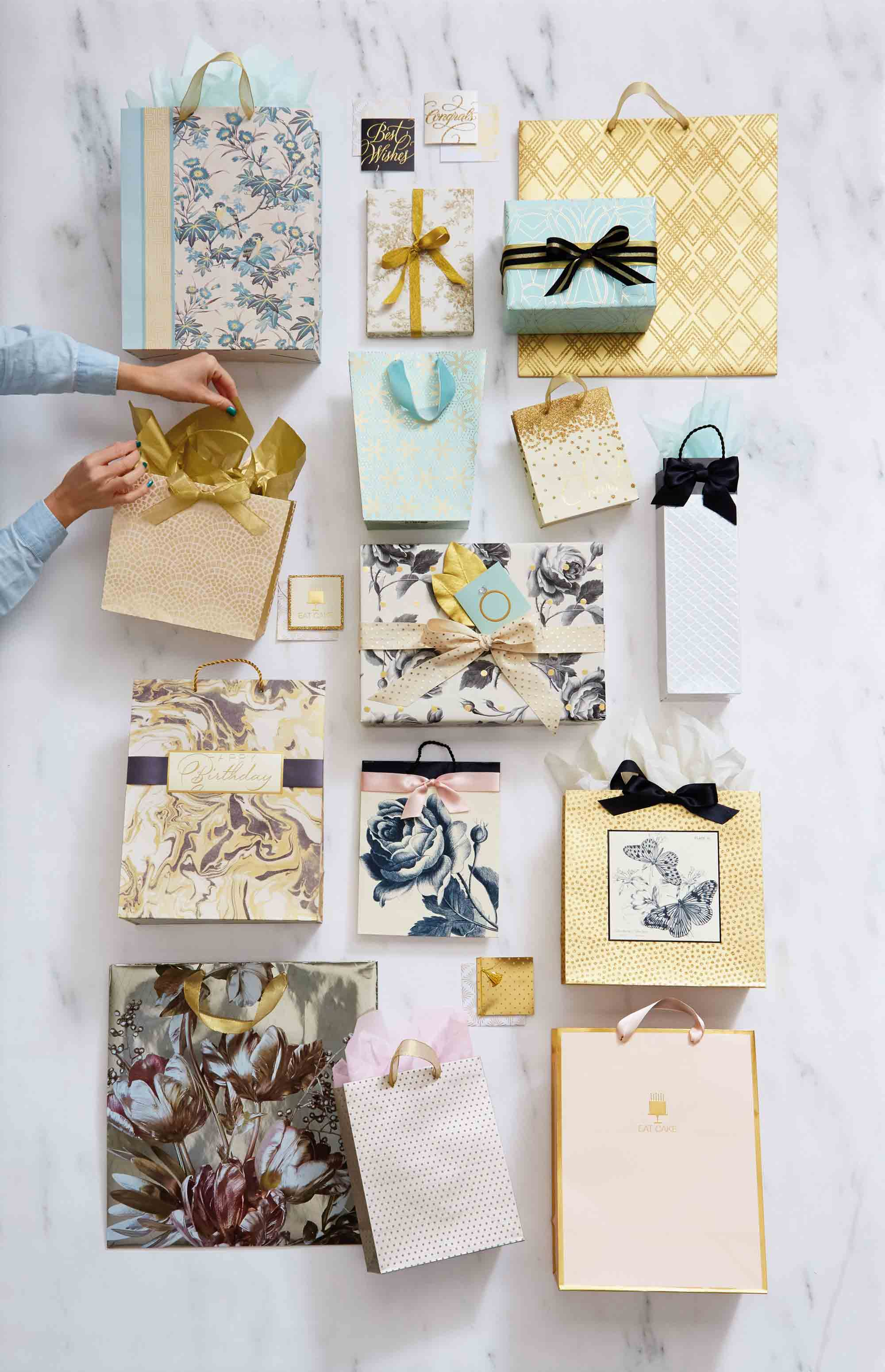 Hallmark Gift Wrap – Classic Luxury Collection
