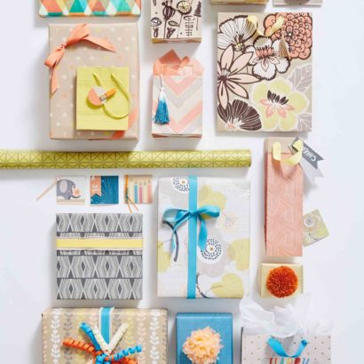 Hallmark Gift Wrap - Eclectic Kraft Collection