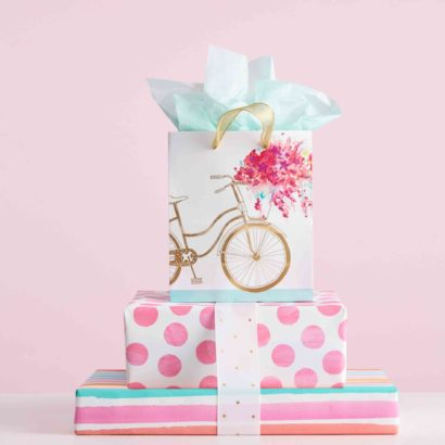 Hallmark Gift Wrap - Simply Pretty Collection