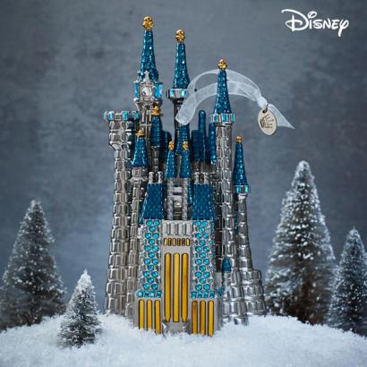 Disney Cinderella's Castle Metal Ornament