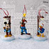 Disney Christmas Carolers Limited Edition Storytellers Ornaments, Set of 3
