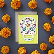 Day of the Dead Card with Envelope