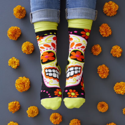 Day of the Dead - Toe of a Kind Socks
