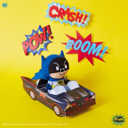 itty bittys Batman & Batmobile