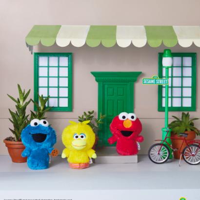 itty bittys Sesame Street