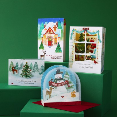 Hallmark Paper Wonder Holiday Cards