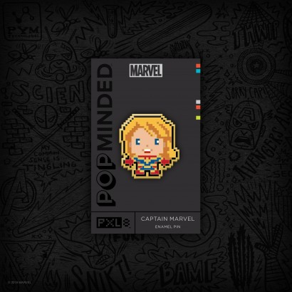 Captain Marvel 2019 Convention Exclusive Enamel Pin