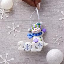 2019 Hallmark Snowman Ornament