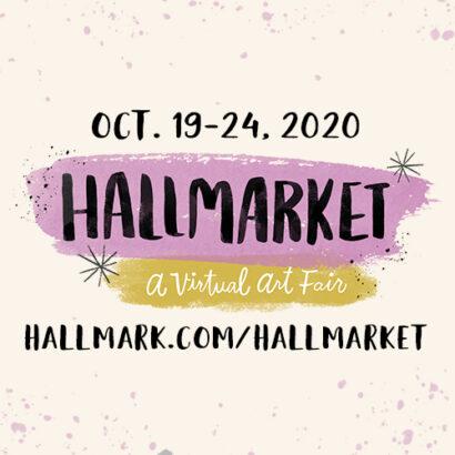 Hallmarket 2020 Logo, Oct. 19-24, 2020, Hallmark.com/Hallmarket